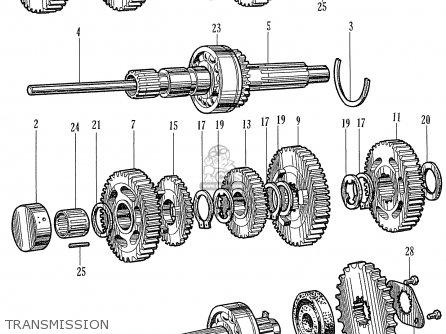 Honda CR93 RACE VERSION parts lists and schematics