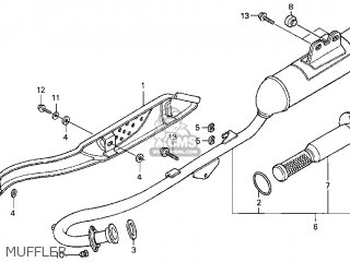 Honda CRF100F 2004 (4) USA parts lists and schematics