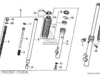 Honda CRF100F 2005 (5) EUROPEAN DIRECT SALES / CMF parts