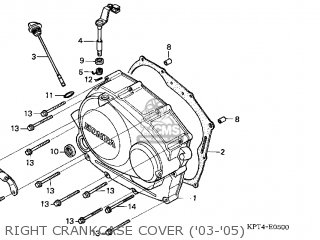 Honda CRF150F 2003 (3) USA parts lists and schematics