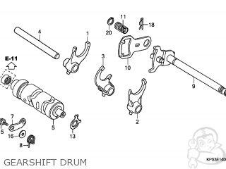 Honda CRF230F 2003 (3) AUSTRALIA parts lists and schematics