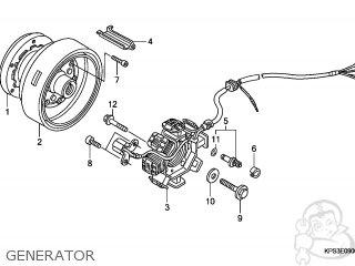 Honda CRF230F 2004 (4) AUSTRALIA parts lists and schematics