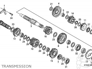 Honda CRF230F 2009 (9) EUROPEAN DIRECT SALES / CMF parts