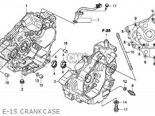 Honda CRF250LM 2014 (E) EUROPEAN DIRECT SALES parts lists
