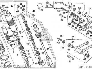 Honda CRF250R 2004 (4) EUROPEAN DIRECT SALES parts lists