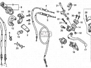 Honda CRF250R 2004 (4) JAPAN ME10-100.101 parts lists and