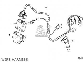Honda CRF250R 2005 (5) AUSTRALIA parts lists and schematics