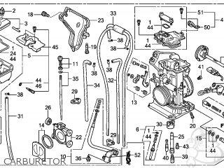 Honda CRF250R 2008 (8) AUSTRALIA parts lists and schematics