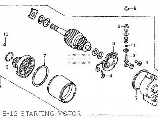 Honda CRF250X 2004 (4) AUSTRALIA parts lists and schematics