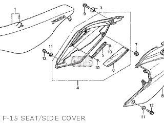 Honda Crf250x 2004 (4) Australia parts list partsmanual