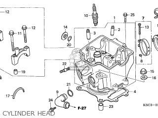 Honda CRF250X 2005 (5) GENERAL EXPORT / KPH parts lists