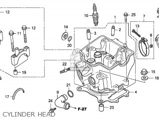 Honda CRF250X 2006 (6) EUROPEAN DIRECT SALES / CMF parts