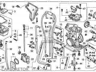 Honda Crf250x 2007 (7) Australia parts list partsmanual