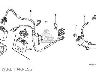 Honda CRF450R 2003 (3) AUSTRALIA parts lists and schematics