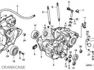 Honda Crf450r 2004 (4) Usa parts list partsmanual partsfiche