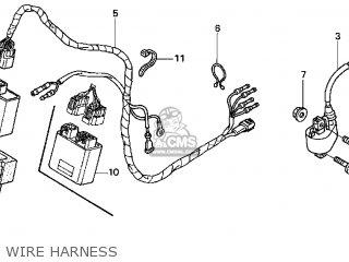 Honda CRF450R 2004 (4) USA parts lists and schematics