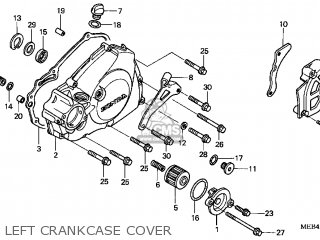 Honda CRF450R 2006 (6) USA parts lists and schematics