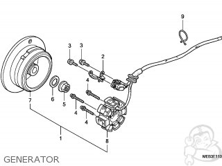 Honda CRF450R 2007 (7) EUROPEAN DIRECT SALES parts lists