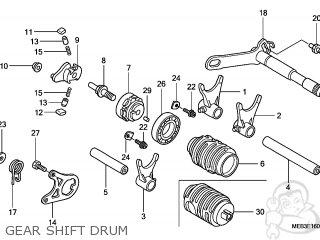 Honda CRF450R 2008 (8) EUROPEAN DIRECT SALES parts lists