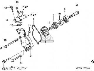 Honda Crf450x 2005 (5) Usa parts list partsmanual partsfiche