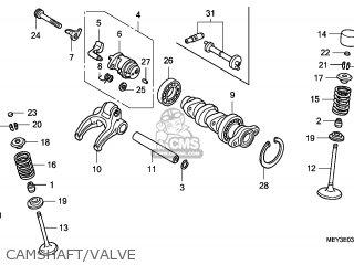 Honda CRF450X 2008 (8) AUSTRALIA parts lists and schematics