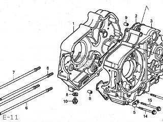 Honda CRF50F 2004 (4) JAPAN AE03-140 (JDM) parts lists and