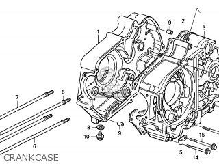 Honda CRF50F 2005 (5) EUROPEAN DIRECT SALES parts lists