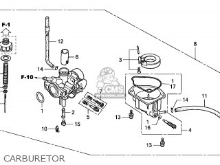 Honda CRF50F 2011 (B) EUROPEAN DIRECT SALES parts lists