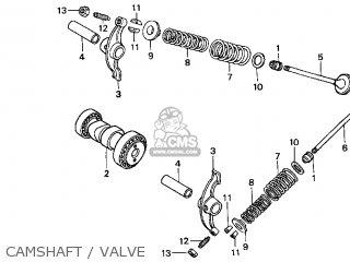 Honda CRF70F 2004 (4) USA parts lists and schematics