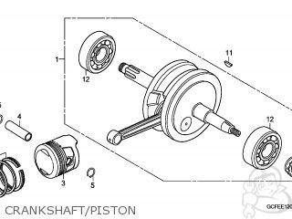 Honda CRF70F 2007 (7) EUROPEAN DIRECT SALES parts lists