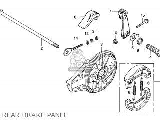 Honda CRF80F 2004 (4) MEXICO parts lists and schematics