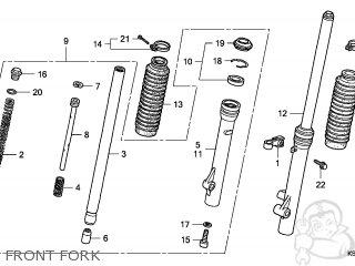 Honda CRF80F 2008 (8) AUSTRALIA parts lists and schematics