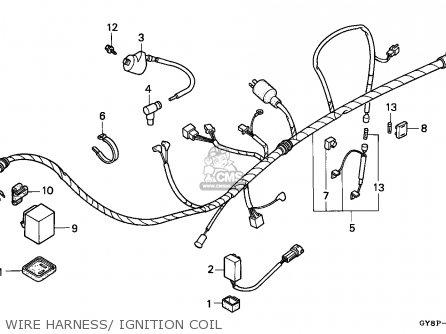 Honda Crm50r 1993 (p) Portugal parts list partsmanual
