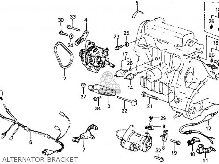 1989 Honda Crx Wiring Diagram Honda CRX Heater Wiring