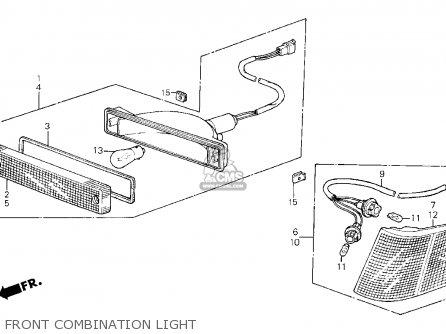 Honda CRX 1985 (F) 2DR SI (KA,KL) parts lists and schematics