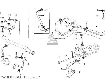 Honda CRX 1986 (G) 2DR HF (KA,KH,KL) parts lists and