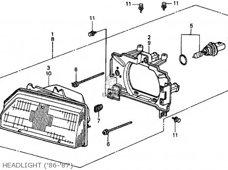 1987 Honda Crx Fuel Pump, 1987, Free Engine Image For User