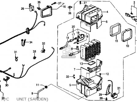 1987 Honda Crx Engine 1987 Honda Accord DX Engine Wiring