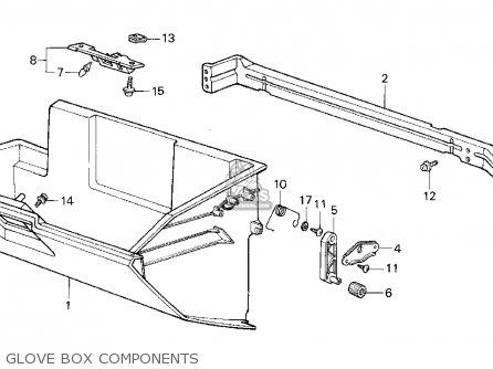 Honda CRX 1987 (H) 2DR SI (KA,KL) parts lists and schematics