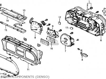 91 crx engine diagram