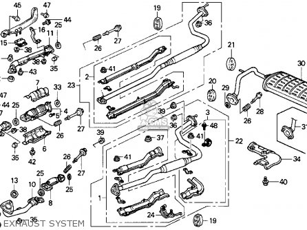 Honda CRX 1989 (K) 2DR DX (KA,KL) parts lists and schematics