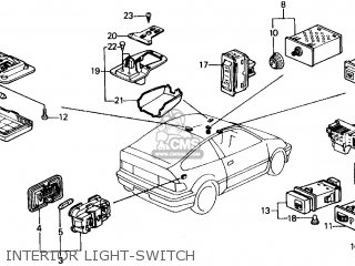 Honda Crx Transmission, Honda, Free Engine Image For User