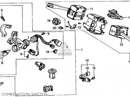 Honda Crx 1989 (k) 2dr Si (ka,kl) parts list partsmanual