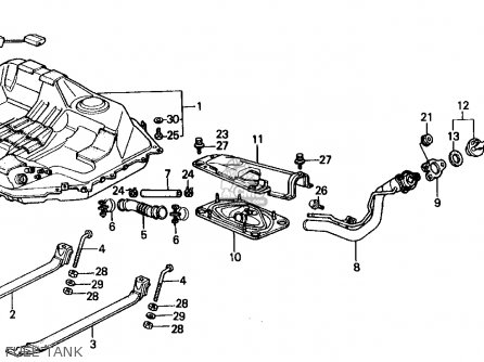Honda CRX 1989 (K) 2DR SI (KA,KL) parts lists and schematics