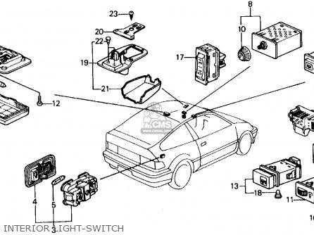 1993 Civic Ignition Switch Wiring Diagram EG Civic Radio