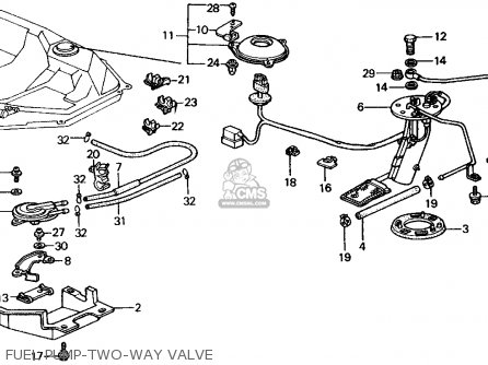 Honda Crx 1990 2dr Si (ka,kl) parts list partsmanual