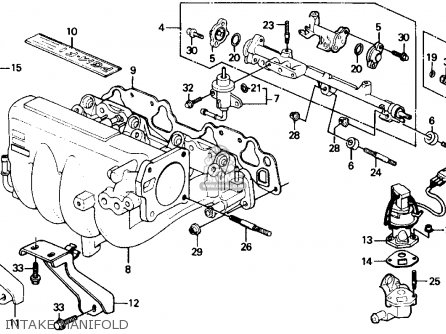 Honda Crx Wiring Diagram, Honda, Free Engine Image For