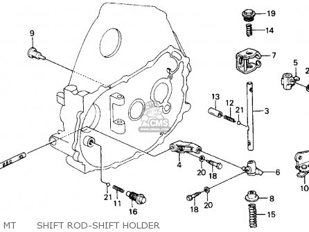 Honda Crx 1990 (l) 2dr Si (ka,kl) parts list partsmanual