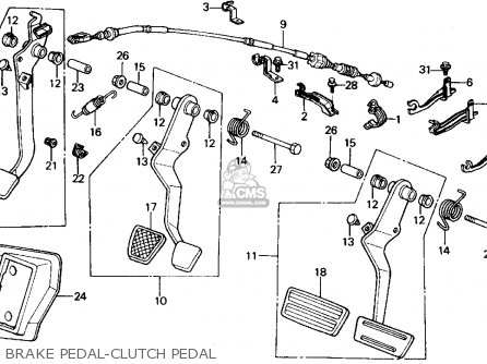 Honda Crx 1991 2dr Si (ka,kl) parts list partsmanual