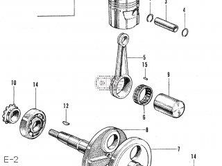 Honda CS50 JAPAN parts lists and schematics